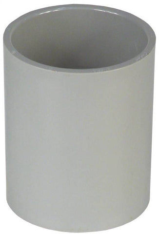 Carlon E940D-CTN Standard Conduit Coupling, 1/2 in, SCH 40, Socket End, PVC