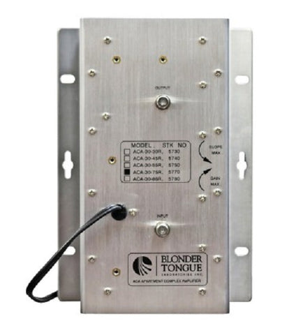 ACA-30-75R Apt Complex Amp; 30 dB, 47-750 MHz, Passive Return, Dual Hybrid - Confluent Technology Group