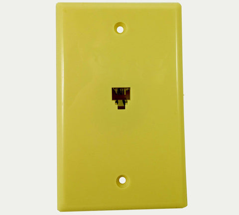 Steren Telephone Wall Plate RJ-11 300-204IV - Confluent Technology Group