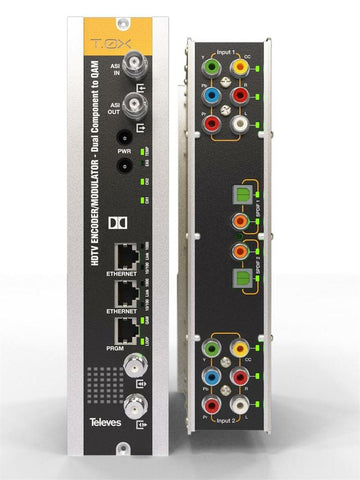 T.0X HDTV Encoder/Modulator - Dual Component to QAM - Confluent Technology Group
