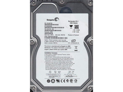 SEAGATE 1000GB Hard Drive - Confluent Technology Group