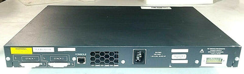 Cisco  Catalyst (WS-C3750G-24T-S) 24-Ports Rack-Mountable Switch Managed... - Confluent Technology Group