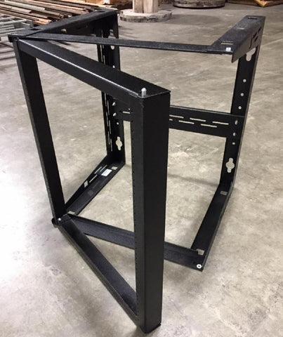 "Wall Mount Swinging Headend Rack 19"" FSCM 00675 California Chassis"