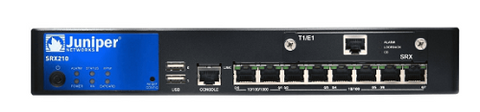 Juniper SRX210 Services Gateway, Small Network Firewall; Part #SRX210HE2 - Confluent Technology Group