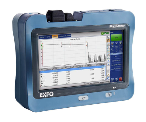 EXFO, MAX Tester, MAX-715B-M1-EA, Fiber Optic Tester - Confluent Technology Group