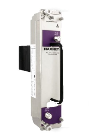 Atx MAXNET 25 db amplifer purple label 870 MHz