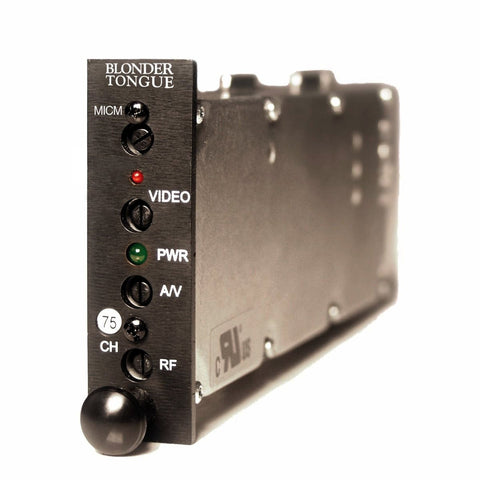 MICM-45D Channelized A/V Modulator - Confluent Technology Group