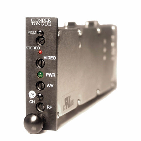 MICM-45C Channelized Audio/Video Modulator - Confluent Technology Group