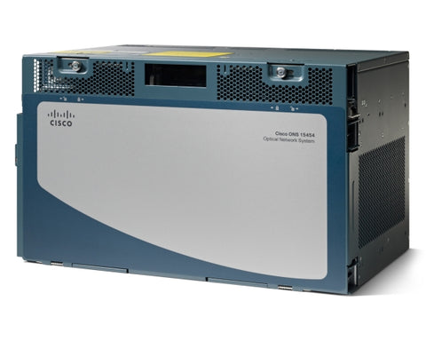 Cisco 6 service slot MSTP shelf, inc M-SHIPKIT, M6-FTF, BRKTS.  Part #15454-M6-S - Confluent Technology Group