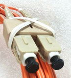 All Systems Broadband Duplex Multimode 2mm 5m Orange Cord; Part #ASBJF2R2S12005M