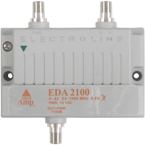 Electroline EDA2100 Bi-Directional Cable Signal Amplifier - Confluent Technology Group