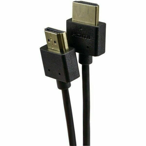 XHD10-04254 HDMI Thin 32AWG Gold-Plated 10ft Black - Confluent Technology Group