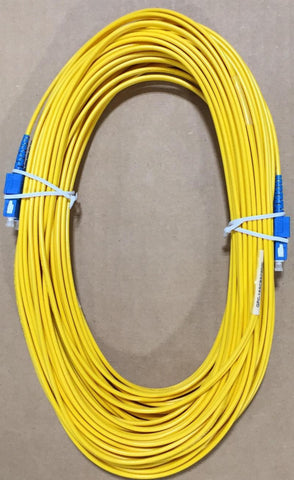Duplex 20 Meter Fiber Jumper SC/UPC to SC/UPC - Confluent Technology Group