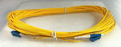 Wirewerks SM Dplx BIF Cord, Yellow, 15m, lc/upc-lc/upc; Part #TPC-EPLCPL-015 - Confluent Technology Group