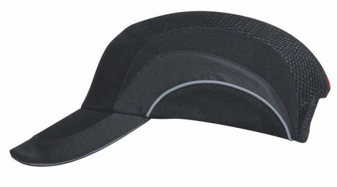 HardCap A1+ Baseball Bump Cap - Standard Brim - Black 282-ABR170-21 Navy - Confluent Technology Group