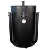 Gateway Drum Smoker 55 Gallon No Plate, matte Black - JAV Skonis