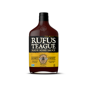 Rufus Teague 'Honey Sweet' BBQ Sauce – 453g - JAV Skonis