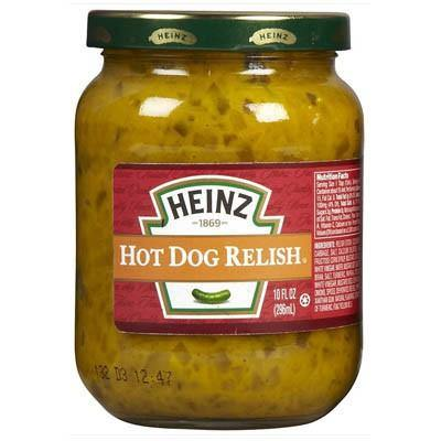 Heinz hot dog relish - 296g - JAV Skonis