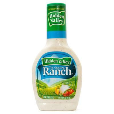 Salotų padažas Hidden Valley Ranch - 236ml - JAV Skonis
