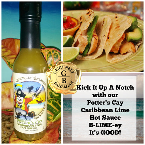 Potter's Cay Caribbean Lime Hot Sauce