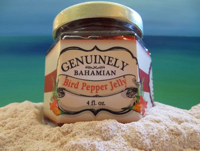 Genuinely Bahamian Bird Pepper Jelly