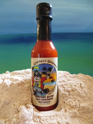 Genuinely Bahamian PARADISE ISLAND Red Habanero Hot Sauce
