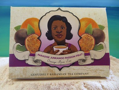 Genuinely Bahamian Paradise Junkanoo Passion Fruit Orange Tea