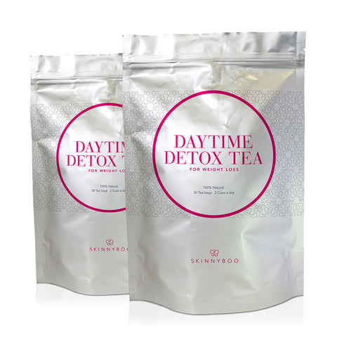 2 Packs Of Skinny Boo Detox Tea - 30 Day Detox Tea