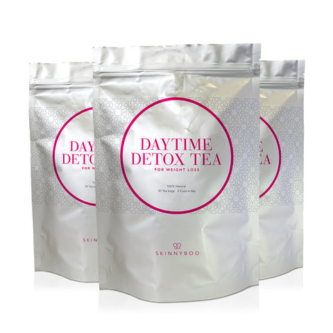 3 Packs Of Skinny Boo Detox Tea - 45 Days Of Teatox!