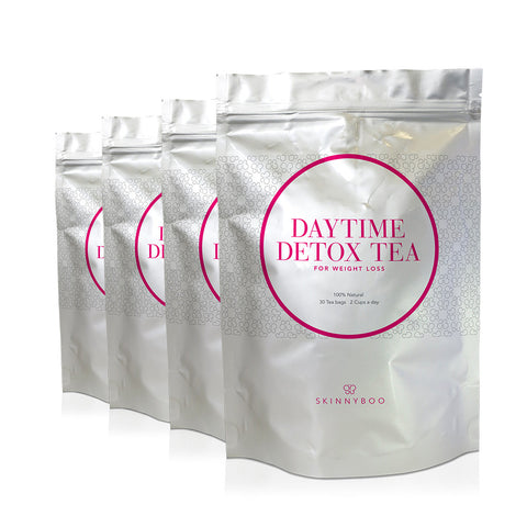 4 Packs Of Skinny Boo Detox Tea - 60 Days Of Teatox!