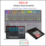 (for Ableton Live and Akai) ABLE-M Beat Templates