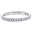 40 Stone Full Eternity Ring 0.40ct G/SI Diamonds In 18k White Gold
