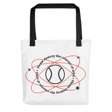 Load image into Gallery viewer, ⚾ Please Destroy the Concept of Orbit Tote Bag