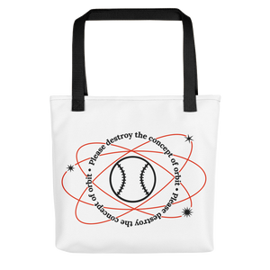 ⚾ Please Destroy the Concept of Orbit Tote Bag