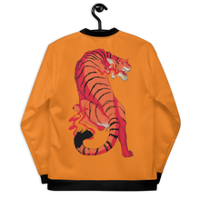 Load image into Gallery viewer, 🐅 Tigers All Over Print Bomber Jacket (Rest in Nonviolence Edition)
