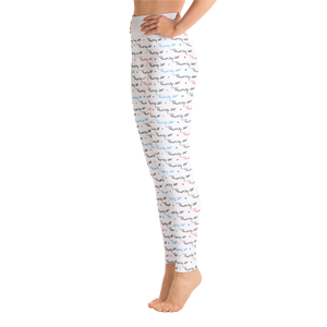 ⚾ The P.MacMilly Signature Collection Leggings - White