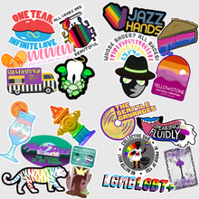 Load image into Gallery viewer, 🌈 LGBT+ History Month Stickers (Packs of 5)