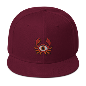 🦀  Baltimore All Seeing Crab Snapback