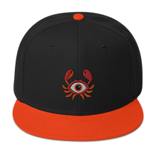 Load image into Gallery viewer, 🦀  Baltimore All Seeing Crab Snapback