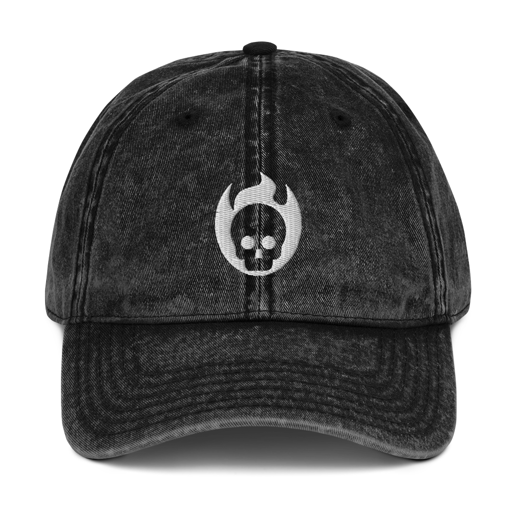 💀 Incinerated Idol Vintage Blaseball Cap