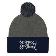Load image into Gallery viewer, 🗣 Moist Talkers Community Values Pom-Pom Beanie