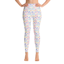 Load image into Gallery viewer, ⚾ We Are All Love Blaseball Yoga Leggings - White