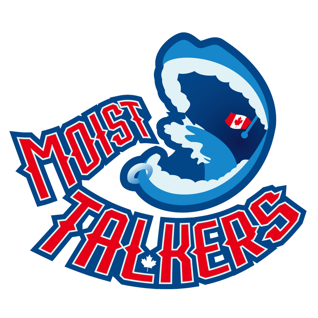 🗣  Moist Talkers Logo Sticker