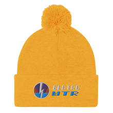 Load image into Gallery viewer, 🚤 ELCTRC WTR Logo Pom-Pom Beanie