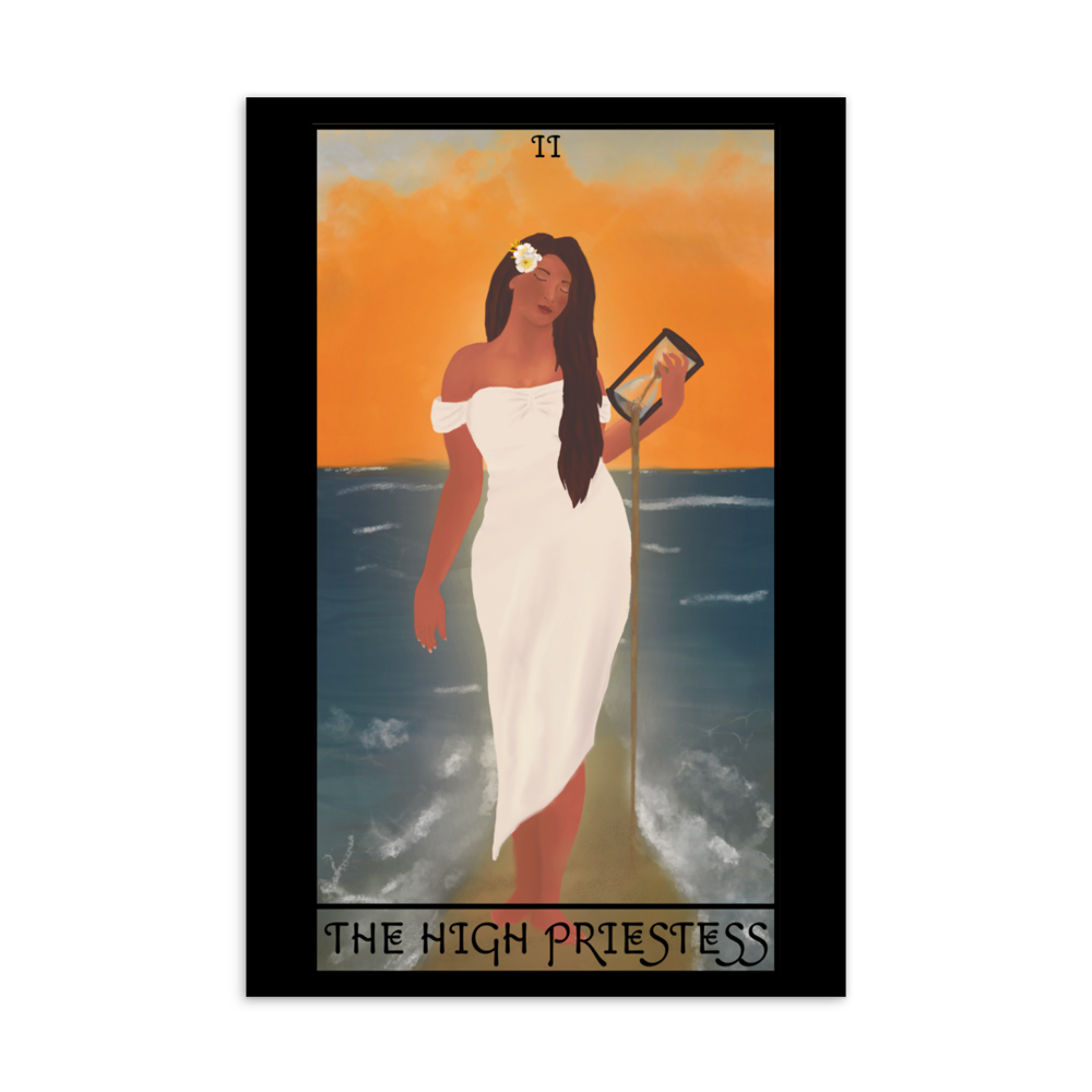 🏝️ Hawai'i Fridays: The High Priestess Postcard
