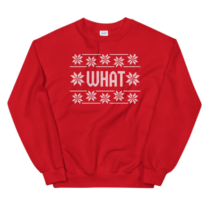 "⚾ The Commissioner ""WHAT"" Sweater"