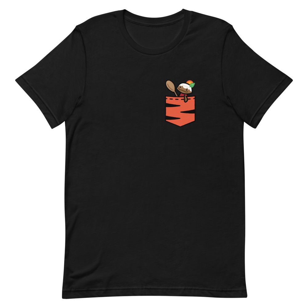 🐅 Carmelo Plums Pocket Pal T-Shirt