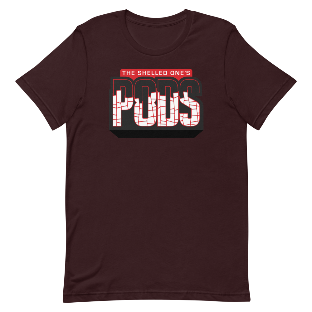 🥜 THE SHELLED ONE'S PODS Logo T-Shirt