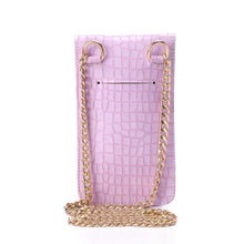 Load image into Gallery viewer, Lilac Going Croc Mobile Bag