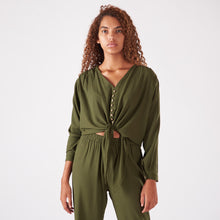 Load image into Gallery viewer, Olive Blouse